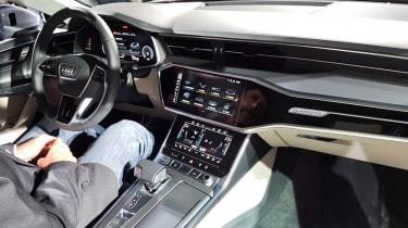 Audi A7 Sportback - reveal dash