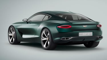 The EXP 10 wowed crowds in 2015, so much so that Bentley is on schedule to put it into production.
