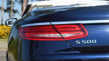 Convertible megatest - Mercedes S 500 Convertible - rear light