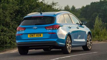 Hyundai i30 Tourer - rear action