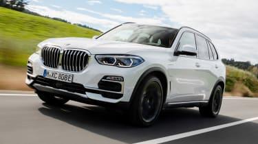BMW X5 xDrive45e plug-in hybrid - front