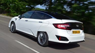 Honda Clarity - rear
