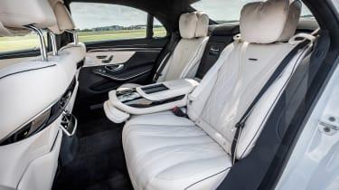 Mercedes-AMG S 63 - rear seats