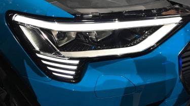 Audi e-tron - reveal light