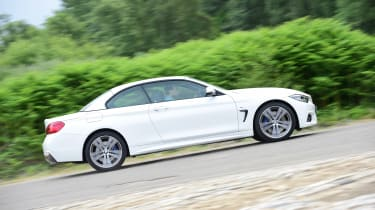 BMW 430i Convertible - side