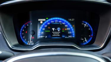 Toyota Corolla Touring Sports prototype - dials