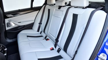 BMW M5 - back seats