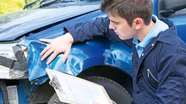 Car insurance damage check