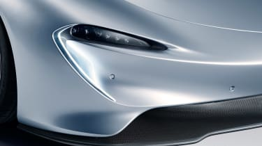 McLaren Speedtail - front detail