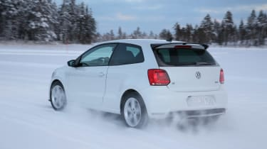 Volkswagen Polo R  white rear
