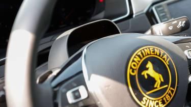 Accident free future - steering wheel