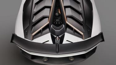 Lamborghini Aventador SVJ 63 - rear detail