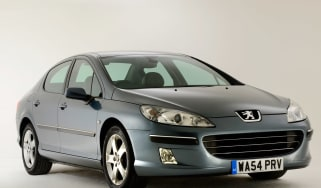 Peugeot 407 front static