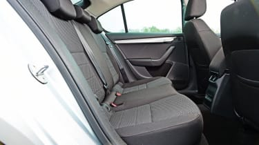 Skoda Octavia - rear seats