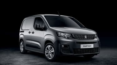 Peugeot Partner - front studio
