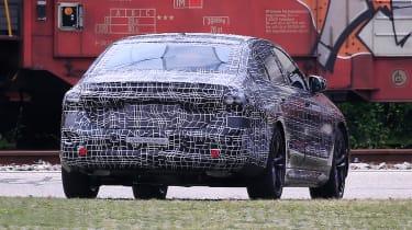 BMW 5 series spy - rear