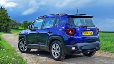 Jeep Renegade - rear static