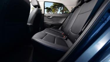Kia Rio - rear seats