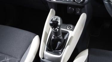 Long term Nissan Micra - second report - gearstick