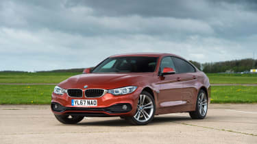 BMW 4 Series Gran Coupe - front static