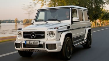 Mercedes-AMG G63 Edition 463 - front tracking