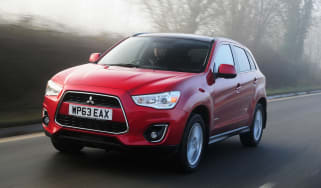 Mitsubishi ASX 4 2014 front right