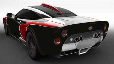 Spyker C8 Aileron - rear