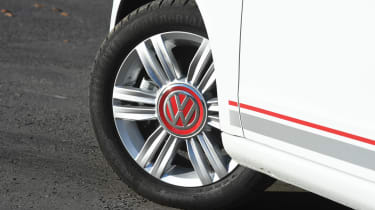 Volkswagen up! 1.0 TSI petrol - wheel detail