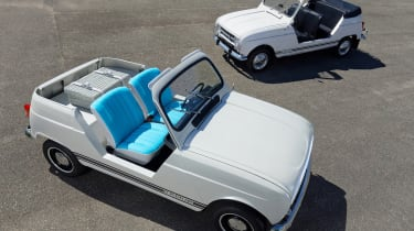 Renault 4 Plein Air beach car