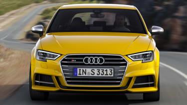 Audi S3 hatch 2017 - front grille
