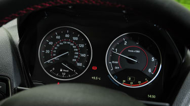 BMW 2 Series Convertible - dials