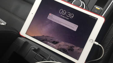 Mazda CX-5 long-term test review - iPad charging
