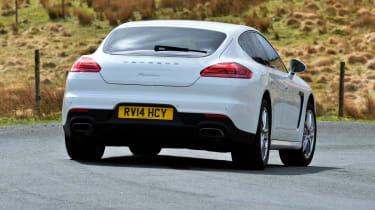 Porsche Panamera 2014 rear action