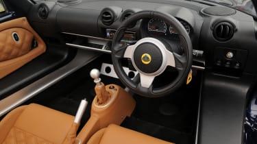 Lotus Exige S Roadster interior