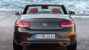New Mercedes C-Class Cabrio - rear