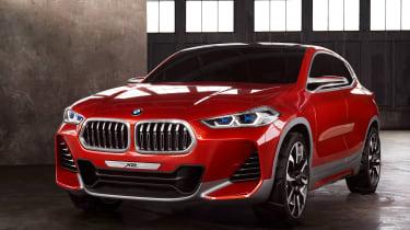 BMW X2 Concept - front quarter
