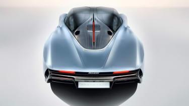 McLaren Speedtail - rear above