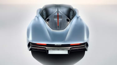 McLaren Speedtail - rear above