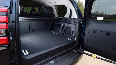 Toyota Land Cruiser - boot door open