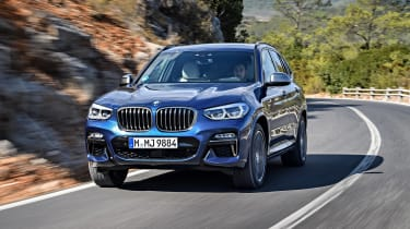 BMW X3 M40i - front tracking