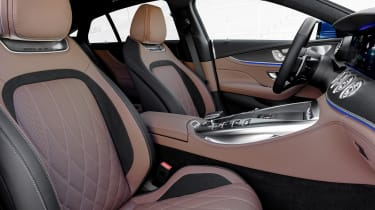 Mercedes-AMG GT 4-Door 2021 facelift blue -  seats