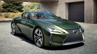 Lexus LC Coupe Limited Edition - front static
