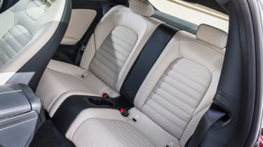 Mercedes C-Class Coupe rear seats