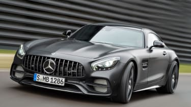 Mercedes-AMG GT C Edition 50 - front cornering