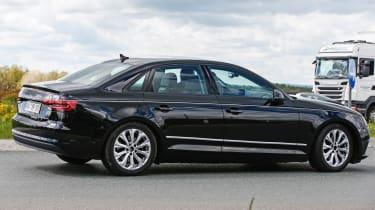 New Audi A4 2015 spy shots 6