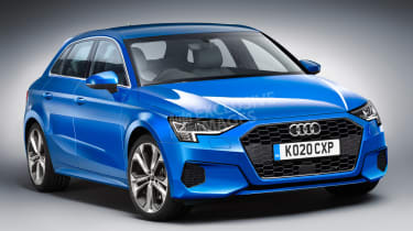 Audi A3 - front (watermarked)