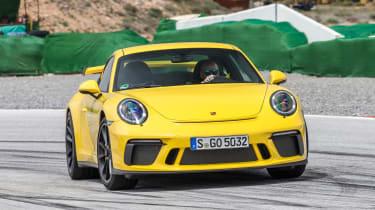 Porsche 911 GT3 - full front track