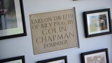 Best of British - Lotus - Chapman plaque