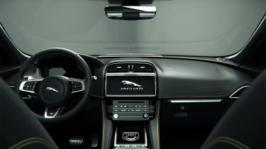 Jaguar F-Pace 300 Sport - interior