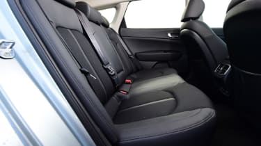 Kia Optima PHEV - back seats